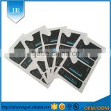 Wholesale High Quality 3M Rubber PC Screen Printing Decorative Sticker Style Adhesive Label