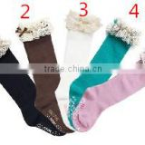 Baby girl leggings wholesale kids stockings lace ruffled leg