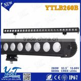 Y&T Best Auto Electrical System 53.5 LED Offroad Light Bar 260w Off Road Led Light Bar For Trucks