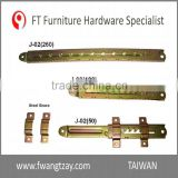 Heavy Duty Industrial Furniture Adjustable Angle Extension Door Desk Table Bed Sofa Metal Bracket Fitting Hardware