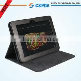 Black Folio Stand PU Leather Cover For Amazon Kindle Fire HD 8.9 inch Table