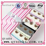 women's leisure combed cotton socks/over knee jacquard socks/cotton socks/bamboo socks