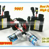 Newest! Defeilang Best Price High Quality HID xenon bulb 9005 with super slim ballast AC/DC 12v 24v 35w 55w 6000k 8000k