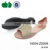 New design ladies pvc sandals plastic jelly shoes for women                                                                         Quality Choice