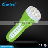 OEM 1/3/4/5/6/7 LED Flashlight, Plastic Power Style Flashlight