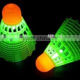 LED Badminton Shuttlecock Dark Night Glow Birdies Lighting For Outdoor & Indoor Sports Activities, glow birdies