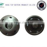 metal alloy wheels take button press silver snap button