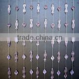flat round crystal glass beads curtain,crystal crafts curtain,curtain