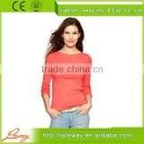 cotton blank t shirts china,wholesale boat-neck tshirt