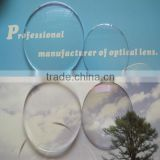 1.49/1.56/1.61/1.67/1.74 cr39 eyeglasses lens ophthalmic lens prescription lens made in china (ce, factory)
