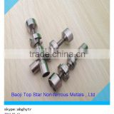 wholesale titanium nails-10mm&14mm domeless titanium nail, fitting 10mm&14mm glass joint