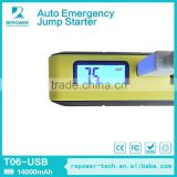 2015 Lithium battery 12v 12000mah car emergency tools Jump Start Type Car Power Bank Jump Start