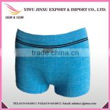 girls wearing boxer shortsr fancy sports wear melange yarn boxer