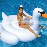 2016 hot sale PVC water play equipment custom water floating inflatable swan                                                                                         Most Popular