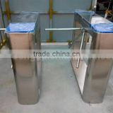 Stainless steel pedestrian tripod turnstile security systems for Bus and railway stations