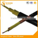 China Multi-cores 0.6KV / 1KV flexible shielded twisted pair house wiring electrical control cable