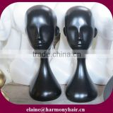 black mannequin head/black training mannequin head/black wig mannequin head display