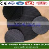 Dutch weave carbon steel wire mesh / hot-sale black wire cloth