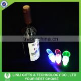2016 New Style Colorful Logo Wine Cork With Led Light