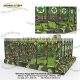 indoor /outdoor airsoft simulator shooting target CS games for kids and adult training play