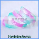 Wholesale Hot Sale Cheap Silicon Wristbands For Men & Women SW-A002