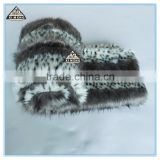 2016 new style soft warm chinchilla fur blanket for sofa