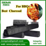bamboo sawdust machine-made charcoal for barbecue