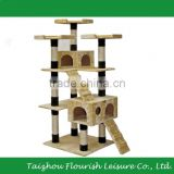 XinYou Cat Tree Scratching Post Scraping Climbing Tree 72 in. High Loft
