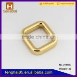 China supplier High quality metal square buckle for bag accessory