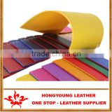 water-proof double side leather usage of stand, case purses ,key cover,decoration by factory china