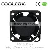 CoolCox 20x20x10mm small axial fan,DC 5V 12V mini dc fan,2010,20mm,Air cleaner fan,ionizer fan,air conditionning fan