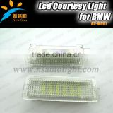 Led coutrtesy light for BMW 13567X Z series error free no warning 9-16V led door light for E81/E87/E87N/E88