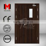 YIJIA Fire exit door with panic exit device /push bar YJRH1519