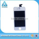 Factory Supplier original mobile phone spare parts lcd touch screen digitizer for iphone 4