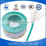 China manufacturer Green House wiring copper core PVC Insulated flexible wire and cable with high tension -BVR(6mm2)
