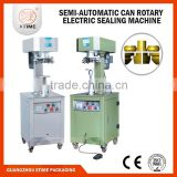 Semi automatic can seaming machine, aluminum can seaming machine, coffee can seaming machine