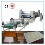 High glossy PVC /Acrylic compact machine/PUR glue sticking machine/Glue roller laminating machine