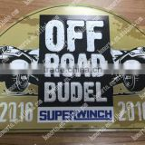 3D printing metal tacker Metal wall art wholesale aluminum sign, decoration metal sign