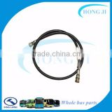 Guangzhou Manufacture Auto Hydraulic Rubber Hose Pipe for Kinglong Bus Spare Parts