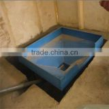 Straight Style Tunnel Ventilation Poultry House Equipment For Broiler Farm