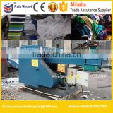 automatic plastic films fiber rags cloth waste recycling cutting machine