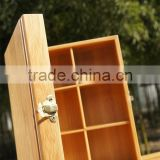 WY-Z286 square Bamboo jewelry Box/package bamboo box /environmental bamboo box