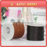 Colorful wax cotton cord waxed cotton cord for bracelet multicolor waxed cord for necklace