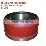 FRONT BRAKE DRUM STEYR PARTS/STEYR TRUCK PARTS/STEYR AUTO SPARE PARTS/SHACMAN TRUCK PARTS
