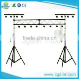 crank stand for event lighting truss, aluminum lighting crank stand truss,hand crank lift