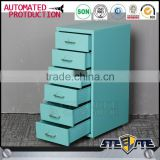 Korean market popular lightweight 6 steps simple small dresser cabinet design