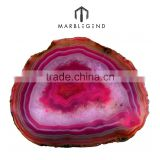 wall and floor used natural wholesale brazilian agate slices