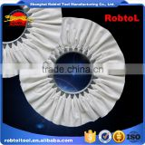 "16"" Cotton Cloth Buffing Wheel Airway Grinding Polishing Abrasive Fabric Disc Sisal Pad stitched Biased Felt"
