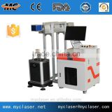 China supplier hot sale metal or non metal IPG laser fiber laser marking machinery manufactures 110*110