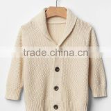 Baby Shawl Collar Cardigan Soft Sweater Coat